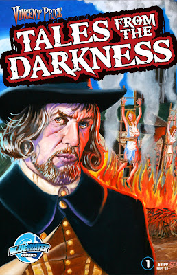 Cover of Vincent Price: Tales From The Darkness #1 by L.J. Dopp