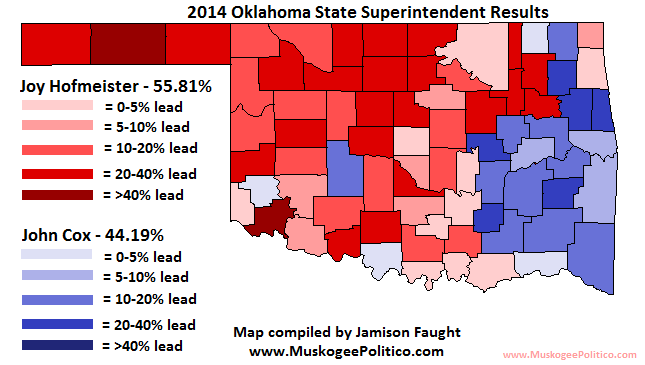 The Latest Addition To The Election Results Maps Series Is The 2014 State Superintendent Race