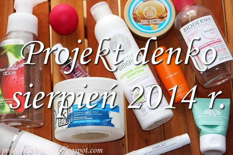 Projekt denko sierpnień 2014