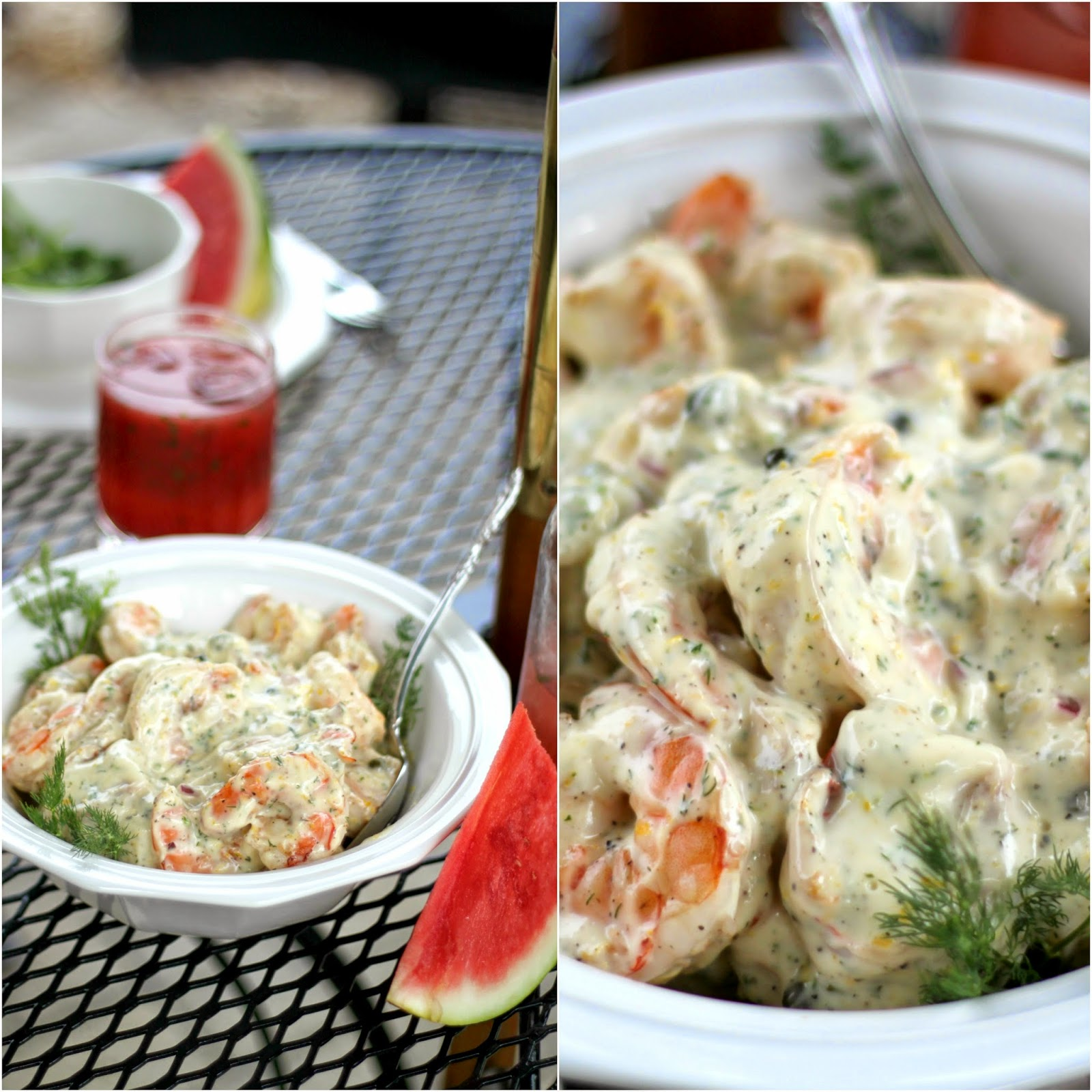 Roasted Shrimp Salad