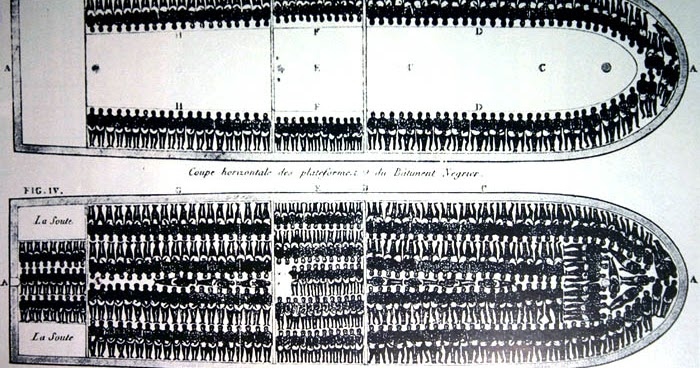 Cultural Front: Diagram of the Slave ship Brooks