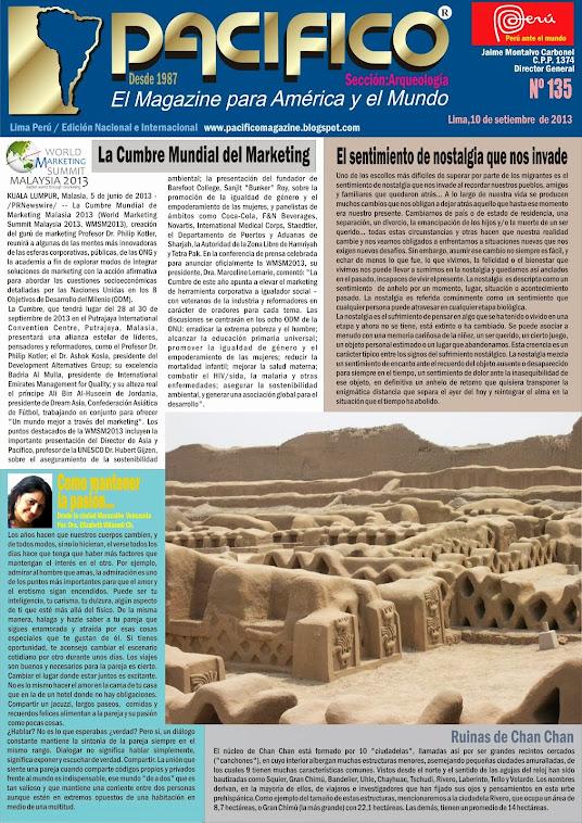 Revista Pacífico Nº 135 Arqueología