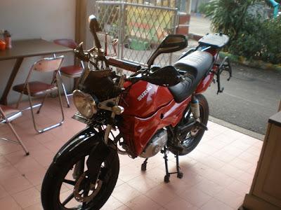 Suzuki Thunder 125 cc modif touring