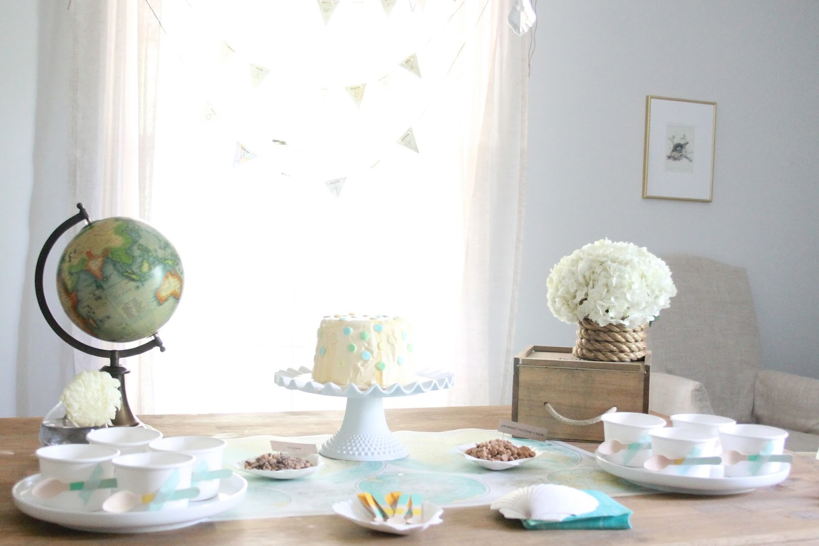 Baby Shower Ideas Nz ~ The world is your oyster baby sprinkle shower julie blanner