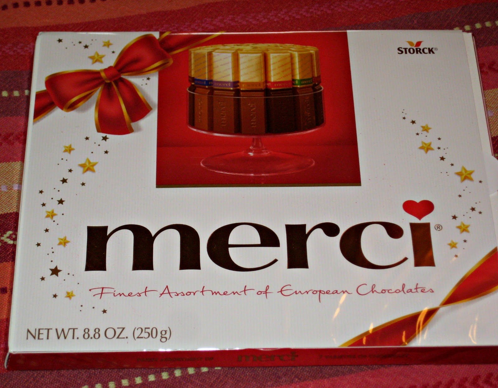 The Art of Random Willy-Nillyness: Merci Chocolates Giveaway ...