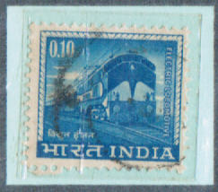 0.10 INDIA, 1953 India Postage Stamps with watermarks