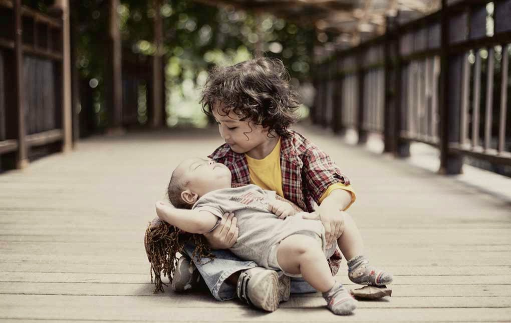 Baby with Child's Love & Care