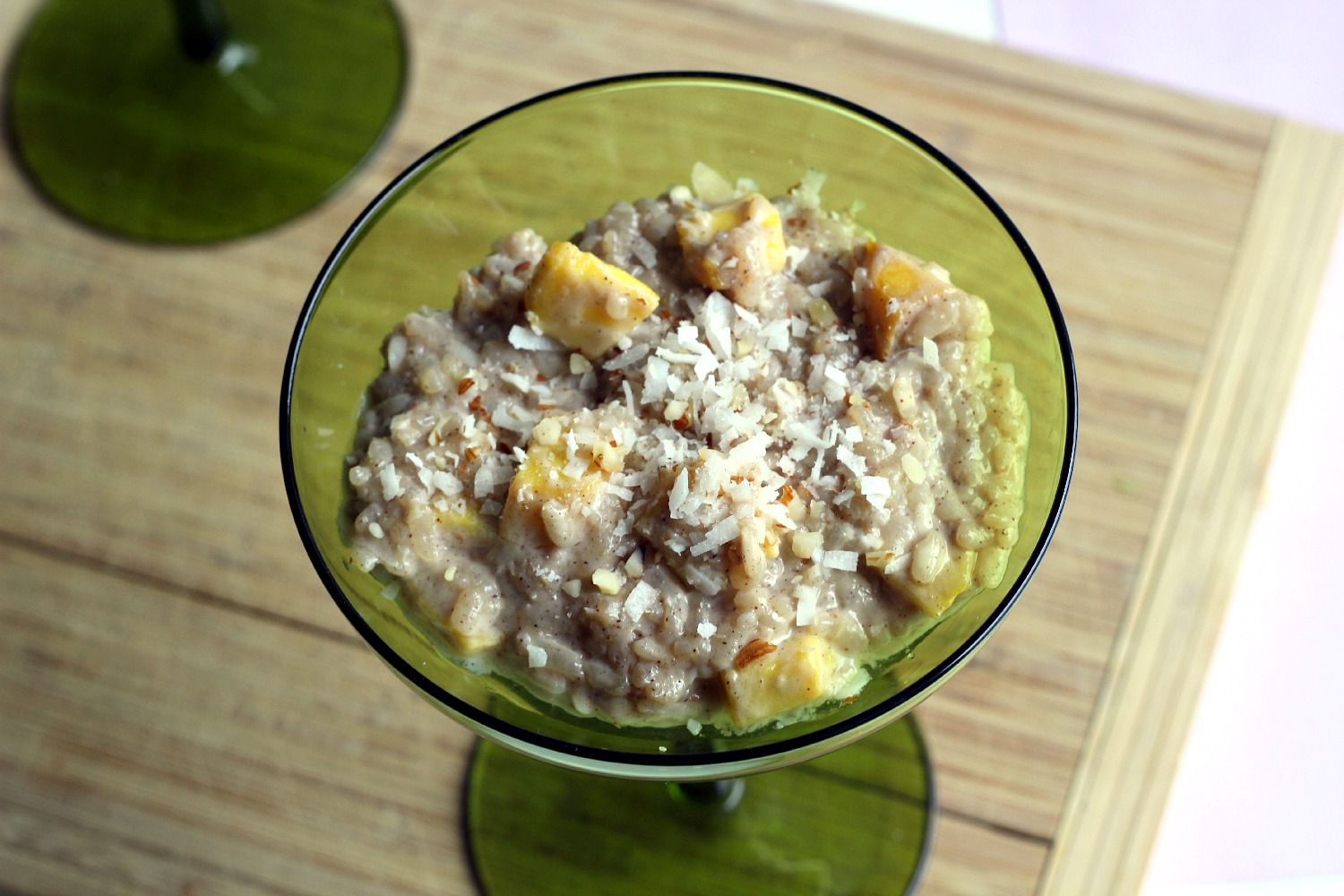 mango coconut rice pudding 3 4 cup arborio rice 1