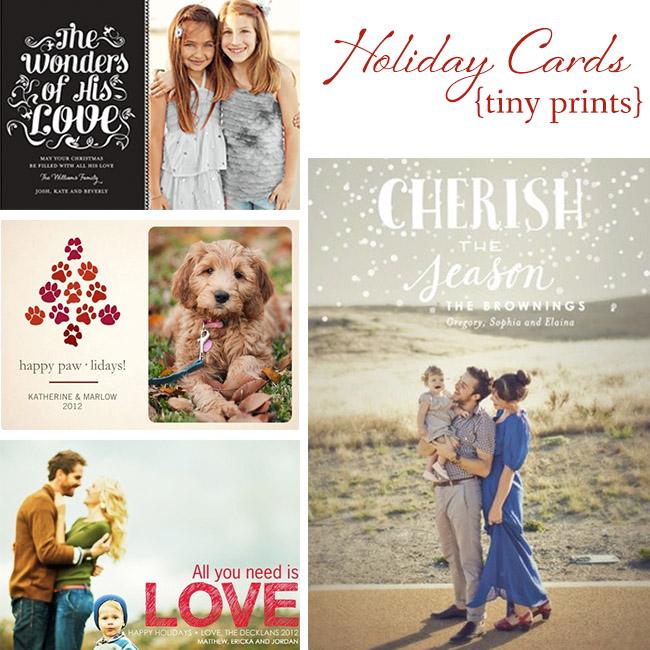 tiny print cards - Tiny Prints Christmas Cards