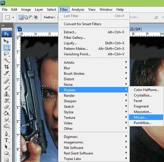 cara belajar how to create tutorial photoshop sensor film 1