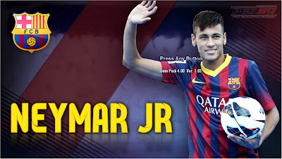 Start Screen Neymar JR (Barcelona) by Asun11 | === PES 2013 ===