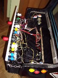 Cableado del panel de control
