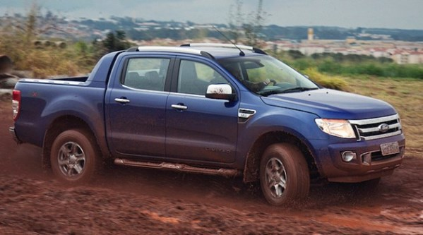 novo Ford Ranger 2014 lateral