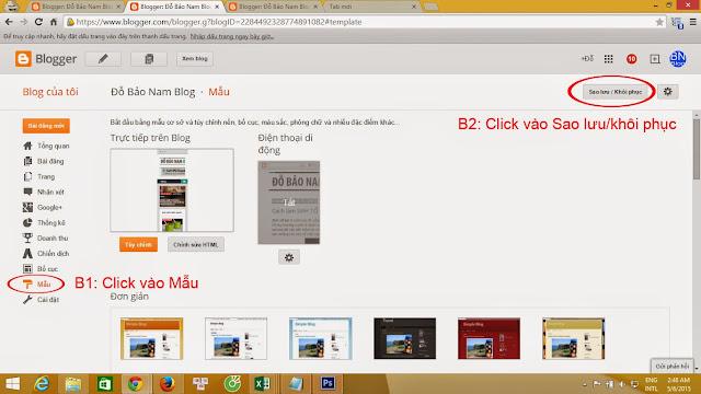 Hướng dẫn cách tạo blogspot Google đẹp