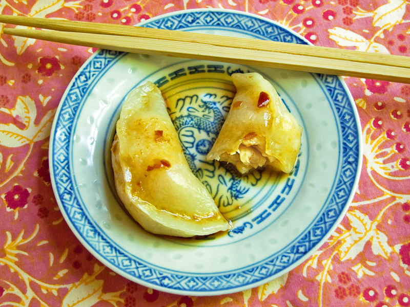 Cooking Weekends: Asian Style Scallop and Shrimp Dumplings