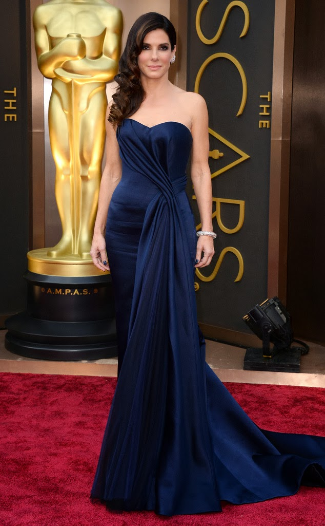 Sandra Bullock Academy Awards 2014 Red Carpet Oscars Celebrity Melanie.Ps blogger Toronto The Purple Scarf
