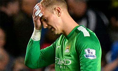 Joe Hart tetap bertahan di Manchester City