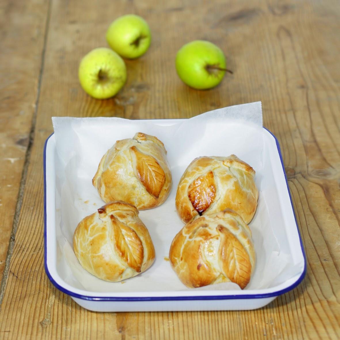 Douillons aux pommes - Pommes en pâte