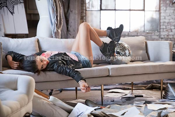 Selena Gomez para Adidas Neo otoño 2013