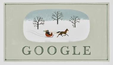 Google Doodle Happy Holidays 2013