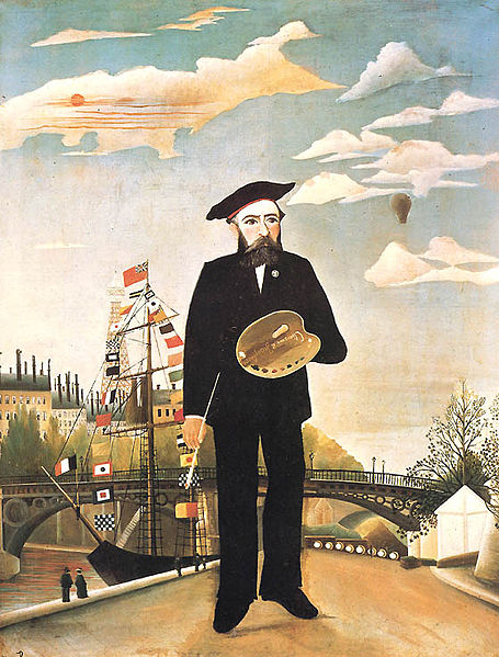 henri rousseau self-portrait