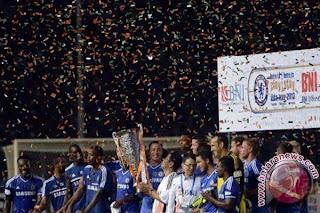 Hasil Pertandingan Indonesia All Star vs Chelsea FC