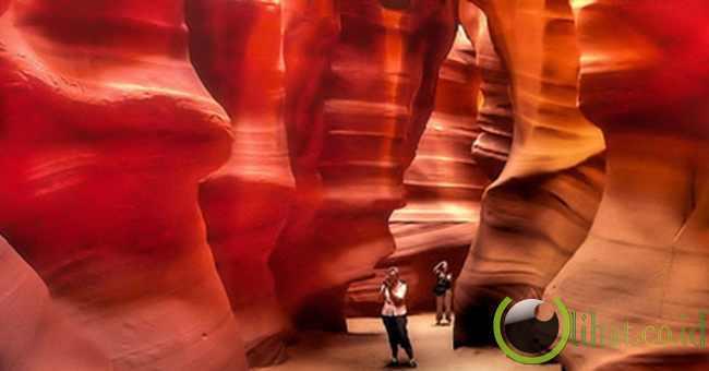 Antelope Canyon, Amerika Serikat