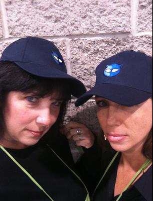 Shannon and Tanya at EDUCAUSE