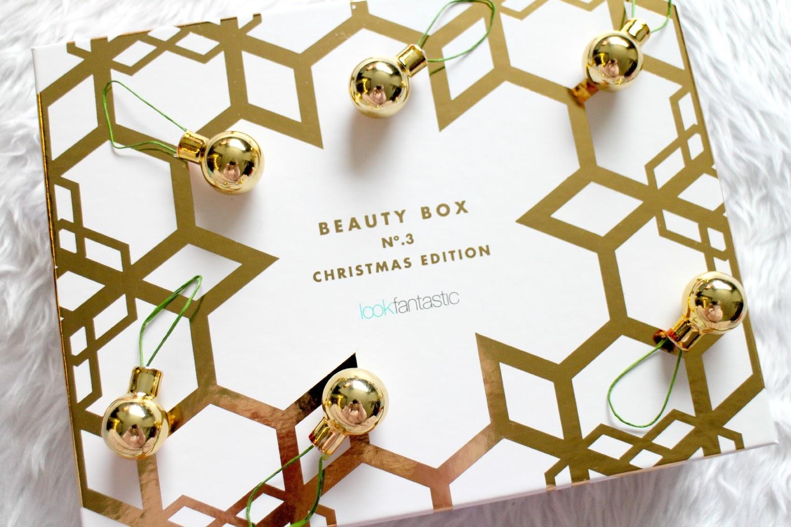 Look Fantastic Beauty Box Christmas