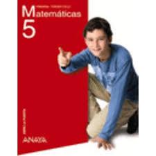 MATEMÁTICAS DE 5º PRIMARIA- ANAYA
