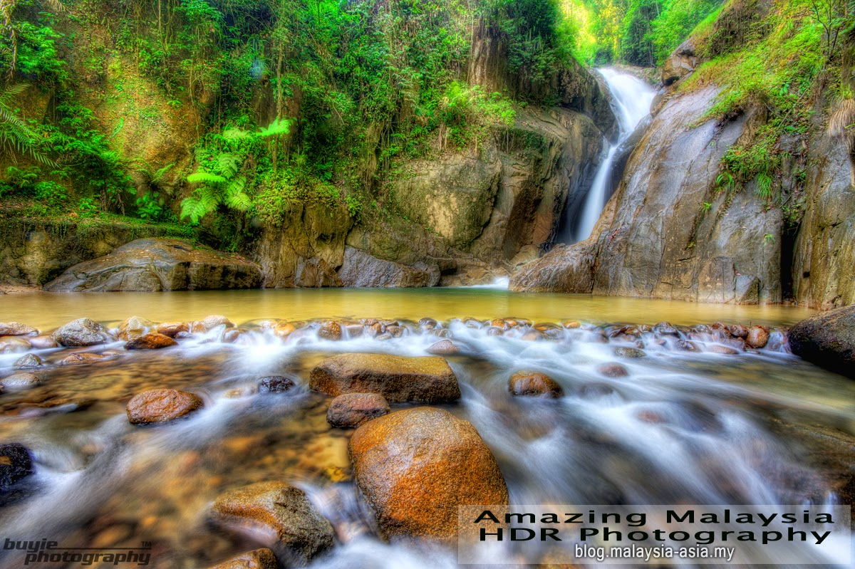 Chiling Waterfalls, Kuala Kubu Baru Selangor