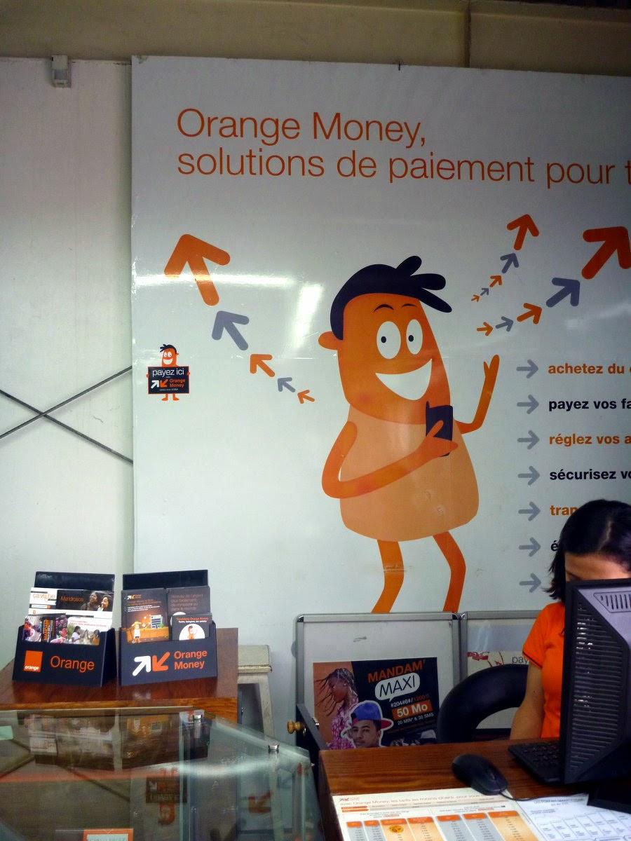 Orange Kiosk