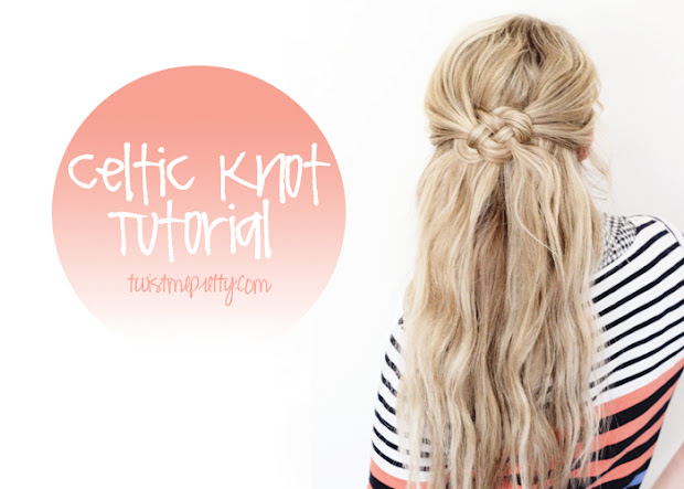 celtic knot tutorial - hairstyle