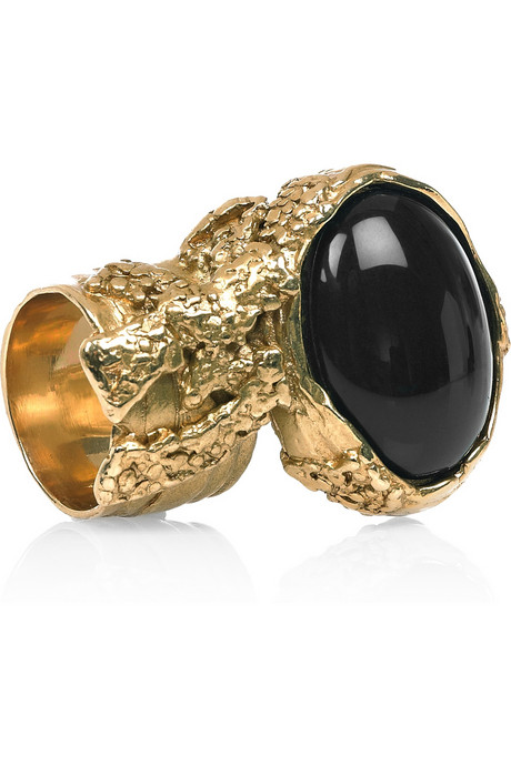 secret hipster yves saint laurent arty ovale ring