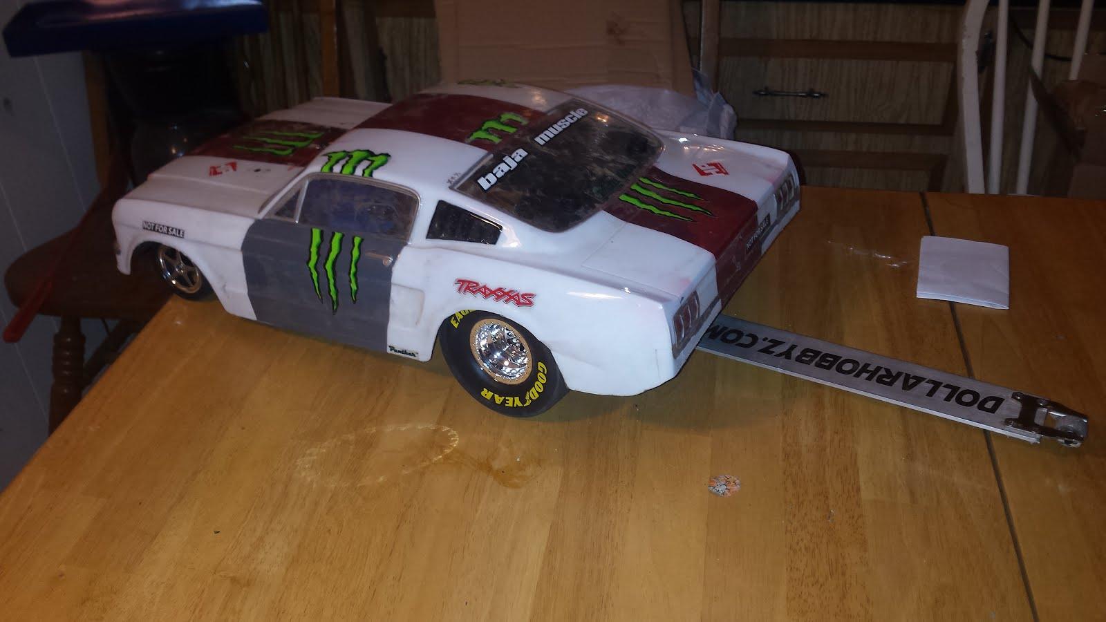 Traxxas Funny Car Battery