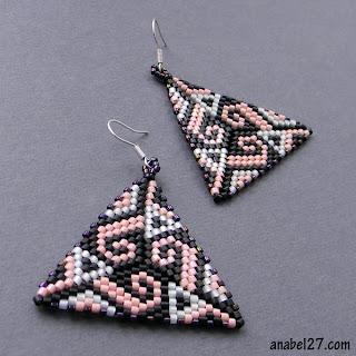 купить этнические украшения ручной работы яркие серьги