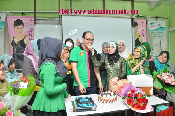 CDM Adibah Karimah dan dr hasbi harun from Green leaders group of premium beautiful