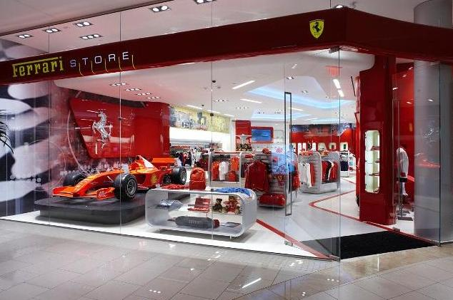 Shopping Aventura Mall Miami Ferrari
