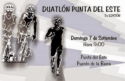 Duatlón de Punta del Este (La Barra, Maldonado; 07/sep/2014)