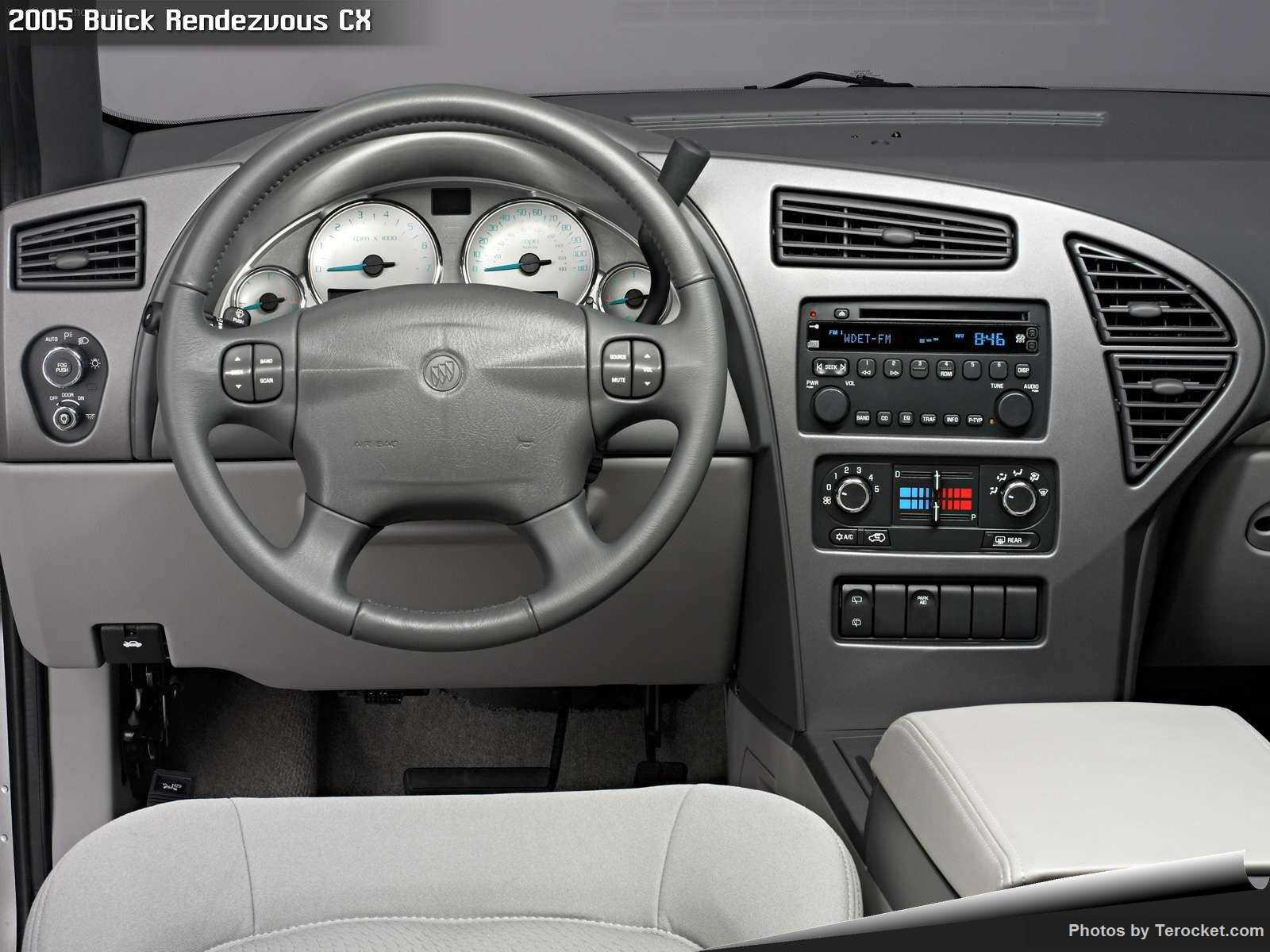 Hình ảnh xe ô tô Buick Rendezvous CX 2005 & nội ngoại thất