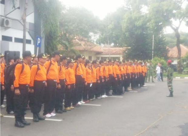 Bupati Subang Bersama Seluruh Kepala Dinas Ikut Pelatihan Bela Negara