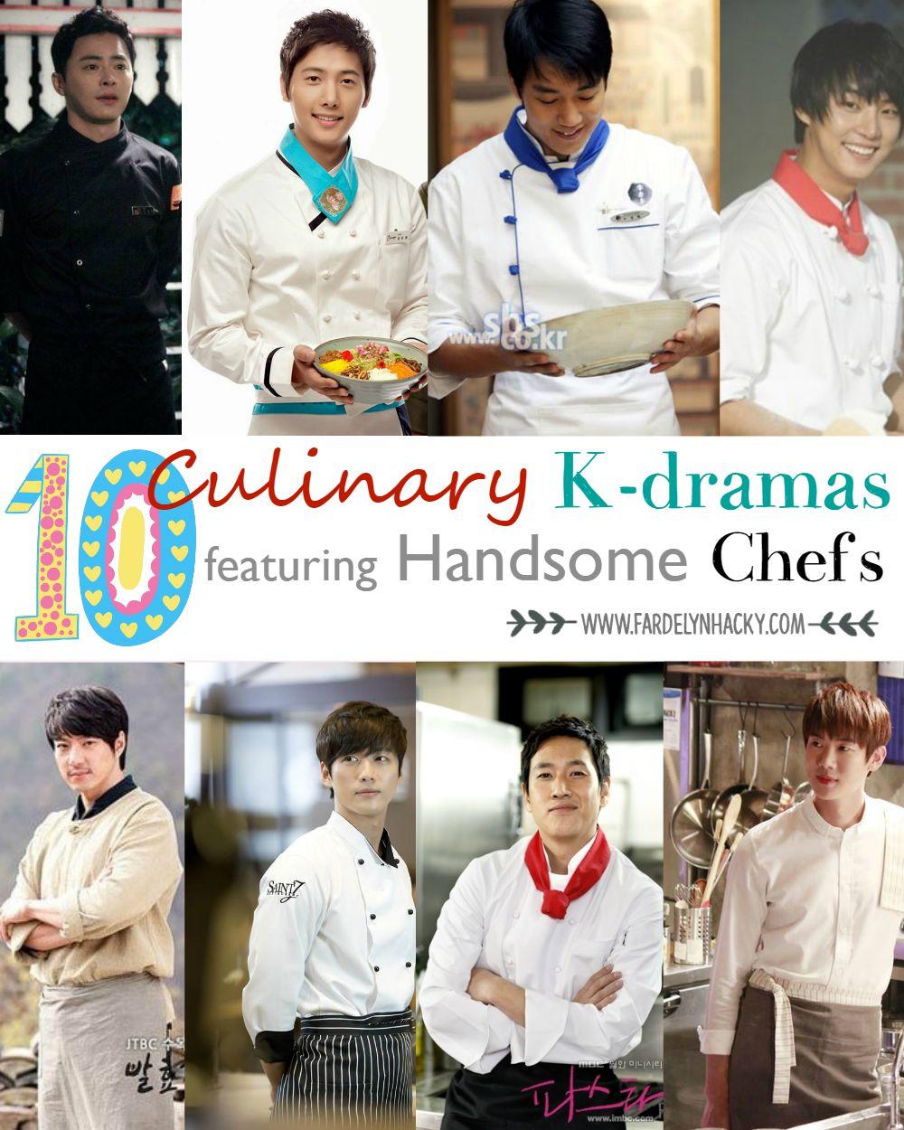 Drama Korea Bertema Kuliner yang Menampilkan Chef Tampan, Culinary K-Drama Featuring Cool Chefs