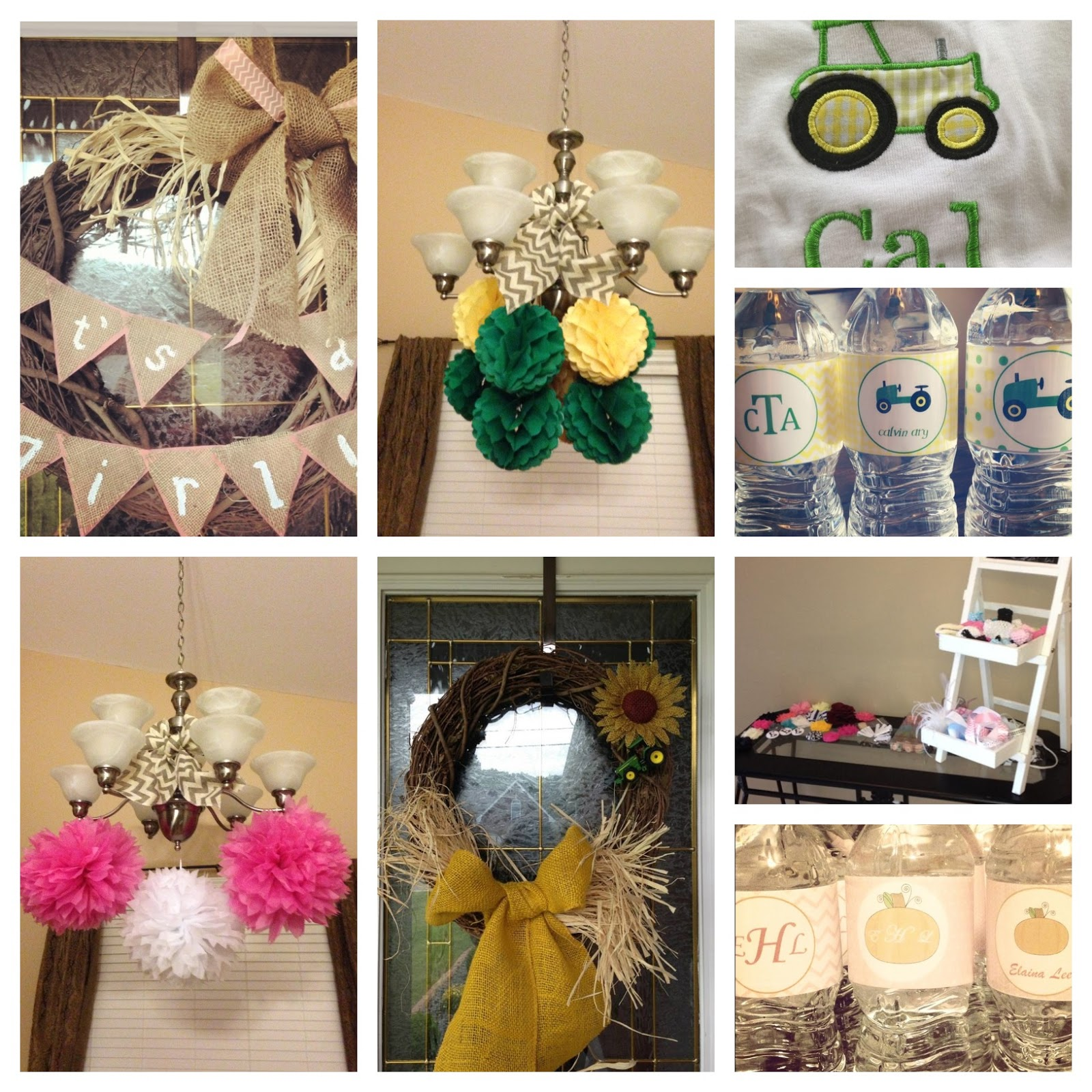 The Southern Front Door Fall Baby Showers