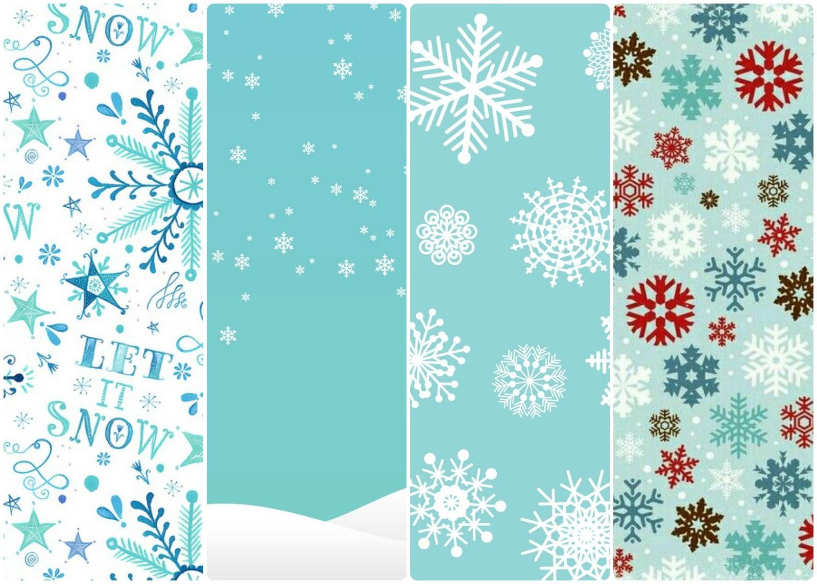 fondos de pantalla whatsapp navideños copos de nieve snowflakes xmas pattern background free iphone android gratis free fondo whatsapp para celular