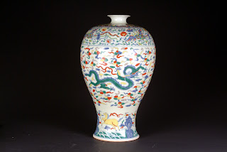Reproduction Chinese Doucai Vase