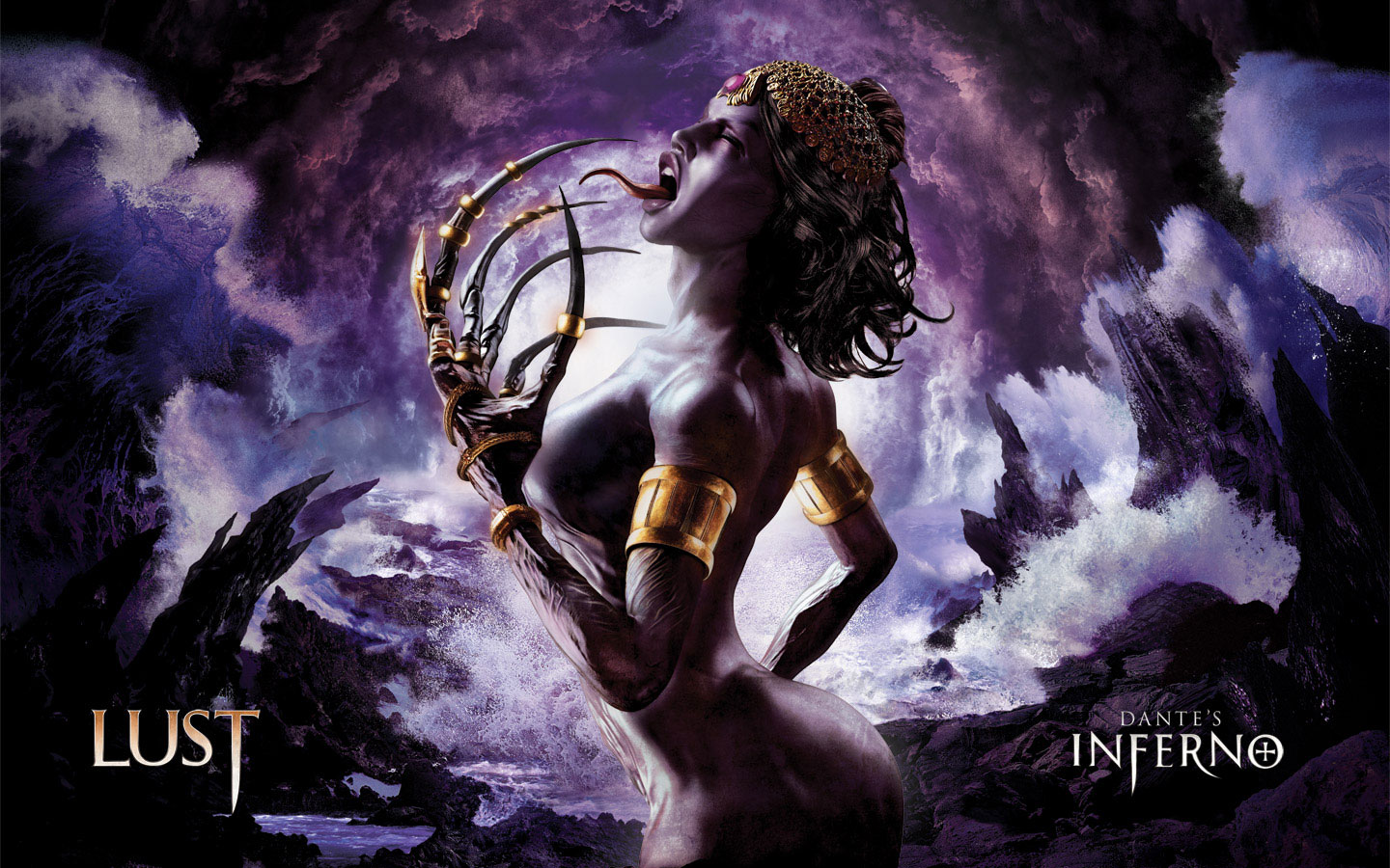 Dantes Inferno Lust HD Wallpaper
