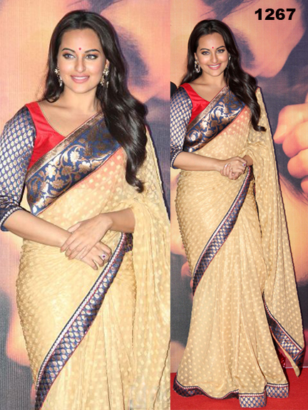 Bollywood Actress Gorgeous Saree, Bollywood Actress Krina Kapoor, Rani Mukharji,Diya Mirza Replica Saree in London