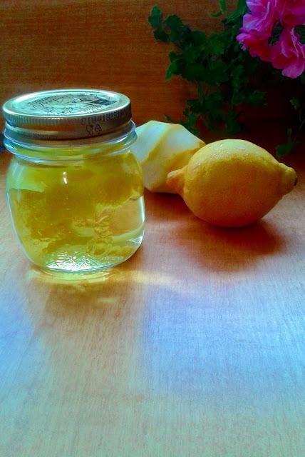 perfume casero de limón