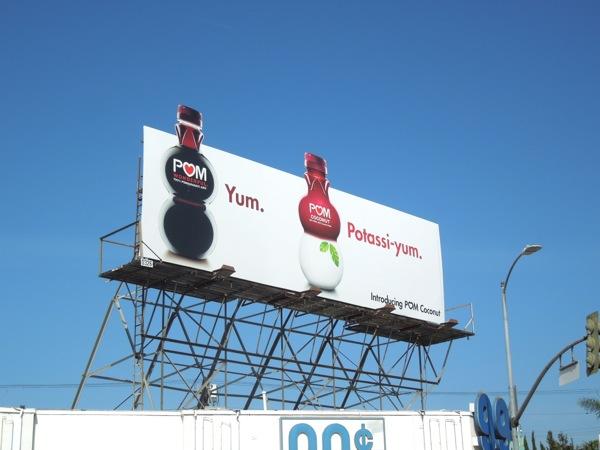 Pom Coconut extension billboard