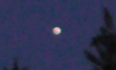 Glowing UFO Orb Hovers Above Italy 2015, UFO Sightings
